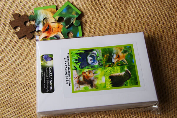 Jigsaw Puzzle - Native Mammals (30 Pieces)