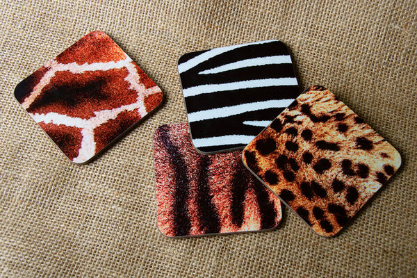 "Drinks Coasters ""Zootime Designs"""