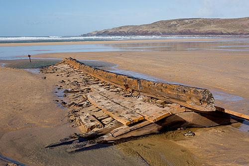 Shipwreck - Freshwater West
