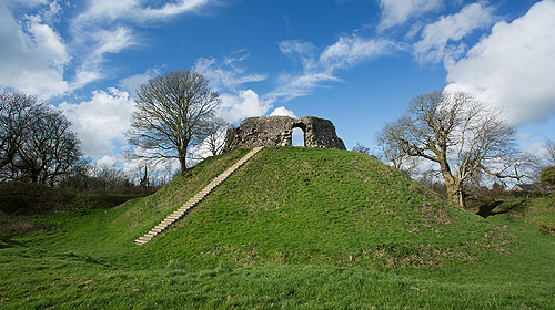 Motte and Bailey - Wiston Castle