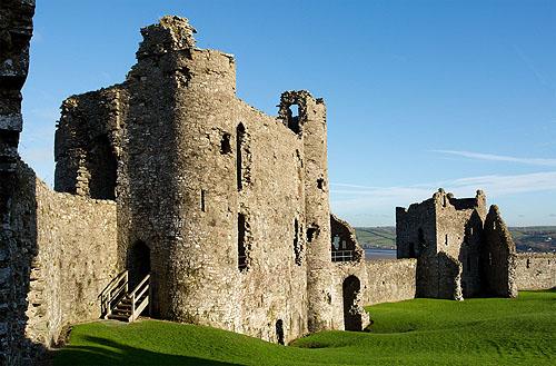 Llansteffan Castle - Carmarthenshire
