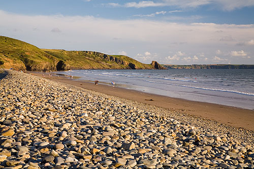 Newgale Pebble Bank