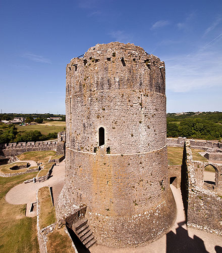 Pembroke Castle - Great Tower or Keep
