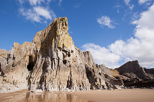 Mewslade Cliffs