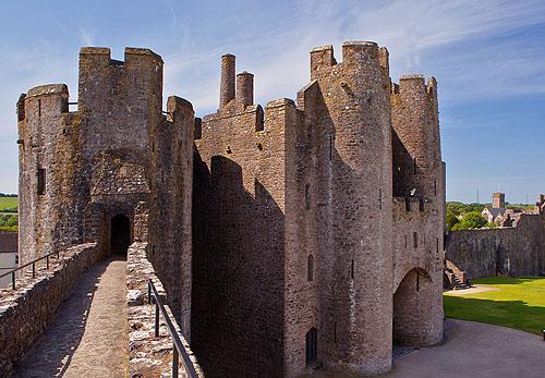 Pembroke Castle - Great Gatehouse