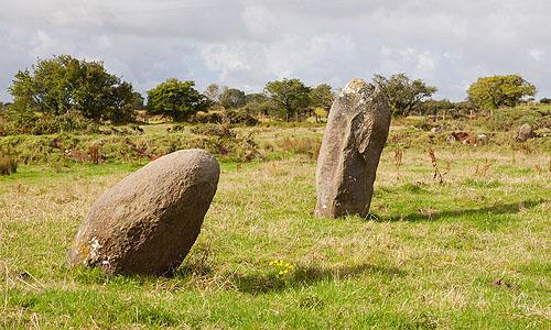 Meini Gwyr - Embanked Stone Circle