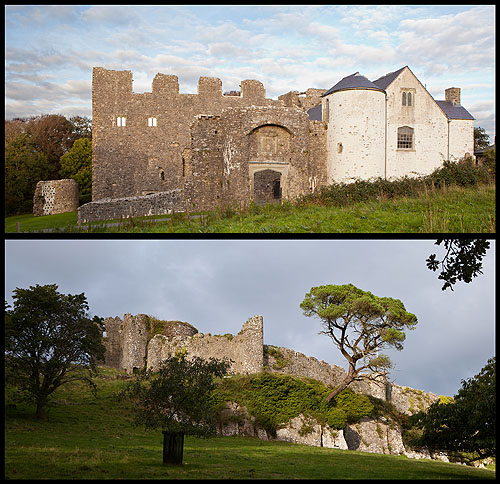 Oxwich Castle - Penrice Castle