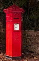 Victorian Penfold Pillar Box -  Neyland