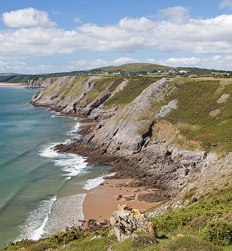 Pennard Cliffs