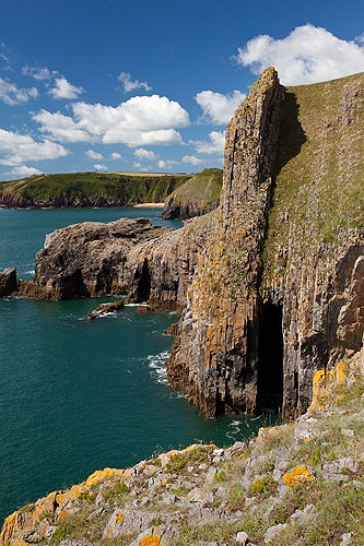 Lydstep Cliffs