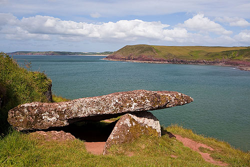 King's Quoit Burial Chamber