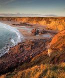 Sunset - Marloes Beach