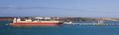 LNG Carrier / South Hook .