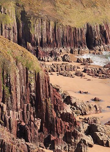 Vertical Old Red Sandstone