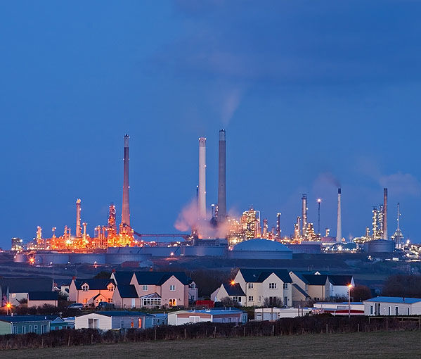 Pembroke Oil Refinery