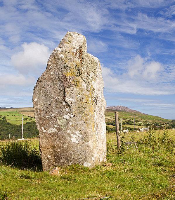 Y Garreg Hir , Standing Stone (Mehir)