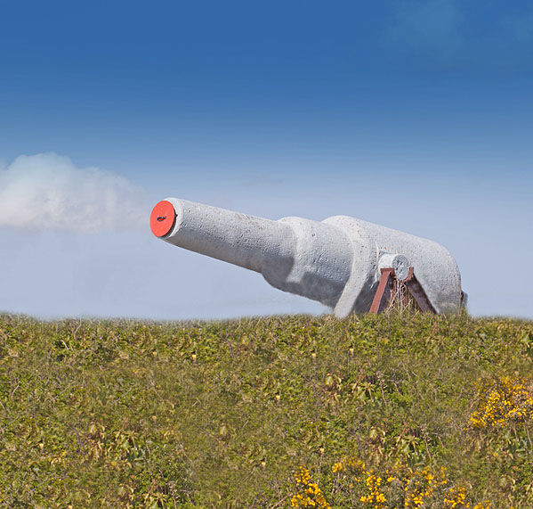 Chapel Bay Fort (Battery) - RML Gun