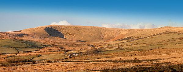Panorama - Preseli Peak