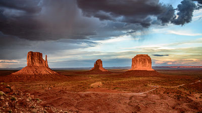 Storm Clouds over Monument Valley