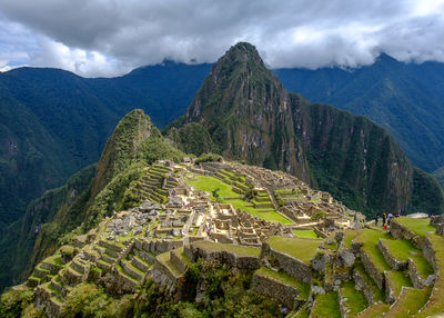 Machu Picchu Sunlit by Tom Sheckleston