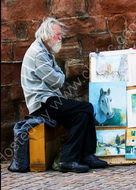 Commended: Street Artist