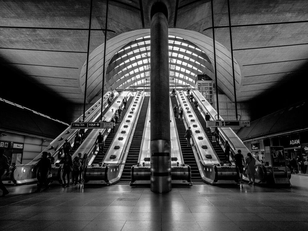 Canary Warf Station by Chris Shepherd