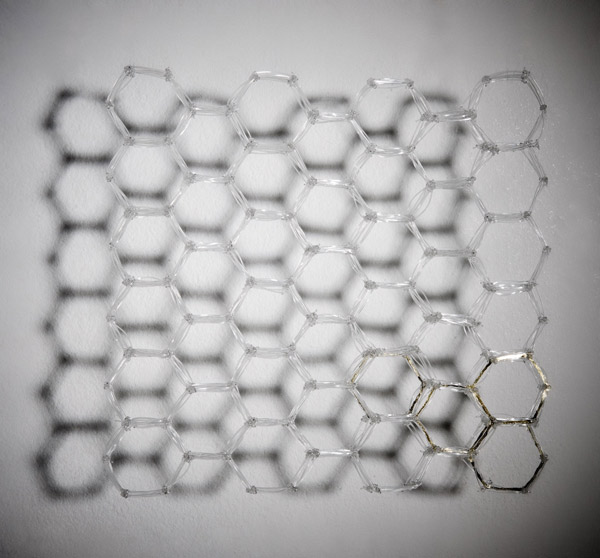 The Shadow of a Honeycomb