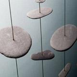 Taunton & Somerset Hospital - Detail of pebble Hanging