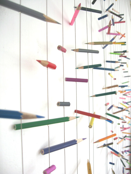 Taunton & Somerset Hospital - Detail of Pencil Hanging