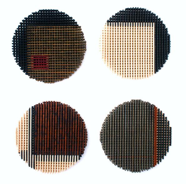 Intersecting Grid Discs