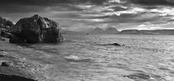 Applecross looking towards the Isle of Skye
