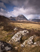 Buachaille Etive Mor from Blackrock Cottage