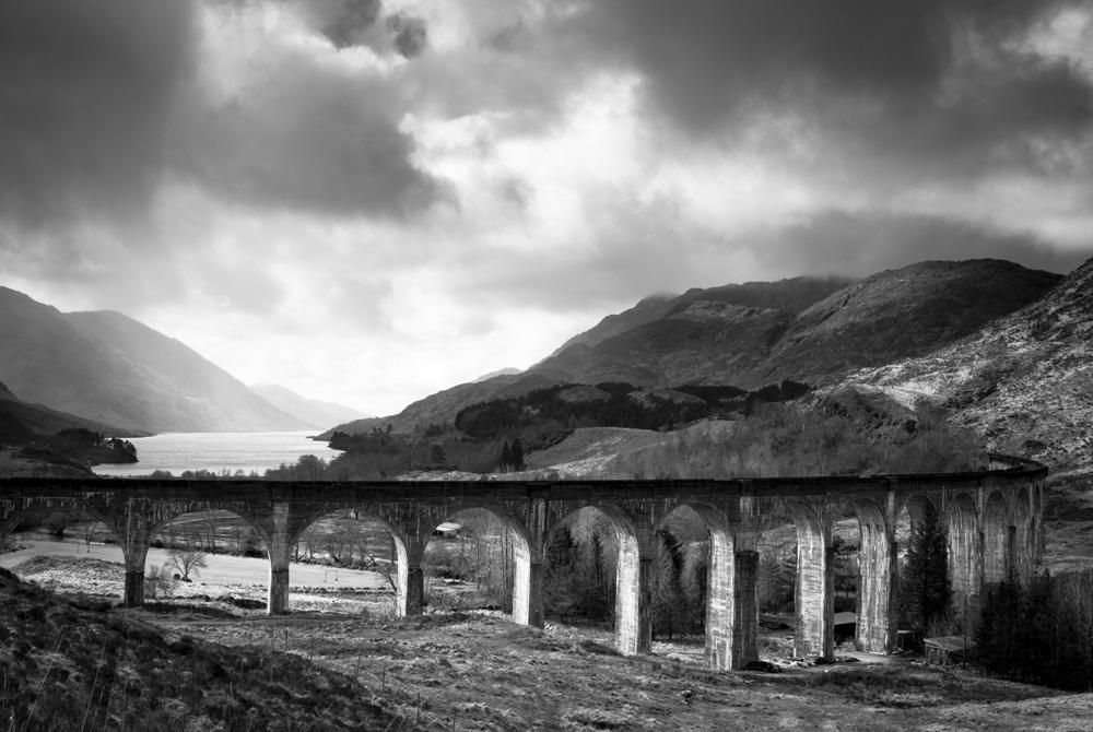 Glenfinnan Viaduct and Loch Shiel