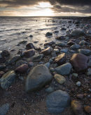Shoreline Dunrobin castle