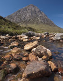 Buachaille Etive Mor from River Coupall