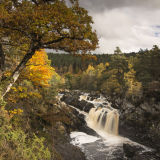 Autumn at Rogie Falls