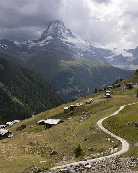 From Findeln to the Matterhorn