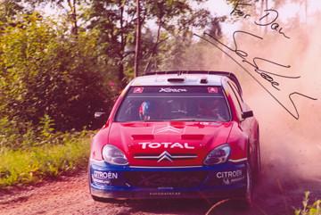 Sebastian Loeb at the 2004 Rally Finalnd