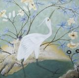 crane 1.Acrylic on canvas.