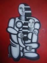 Cubist.Oil on canvas.92cmx76cm.