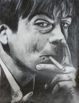 Mark E Smith.Pencil.A4