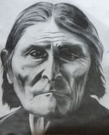 Geronimo.Pencil on paper. A4