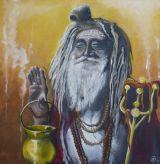 Sadu.Oil on canvas.62cmx60cm.