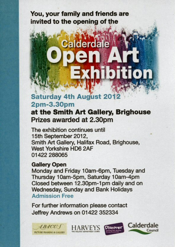 Calderdale Open Art Exhibition