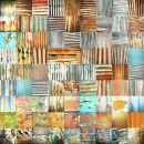 Corrugated Iron Collage 2