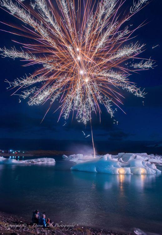 Icebergs and Fireworks