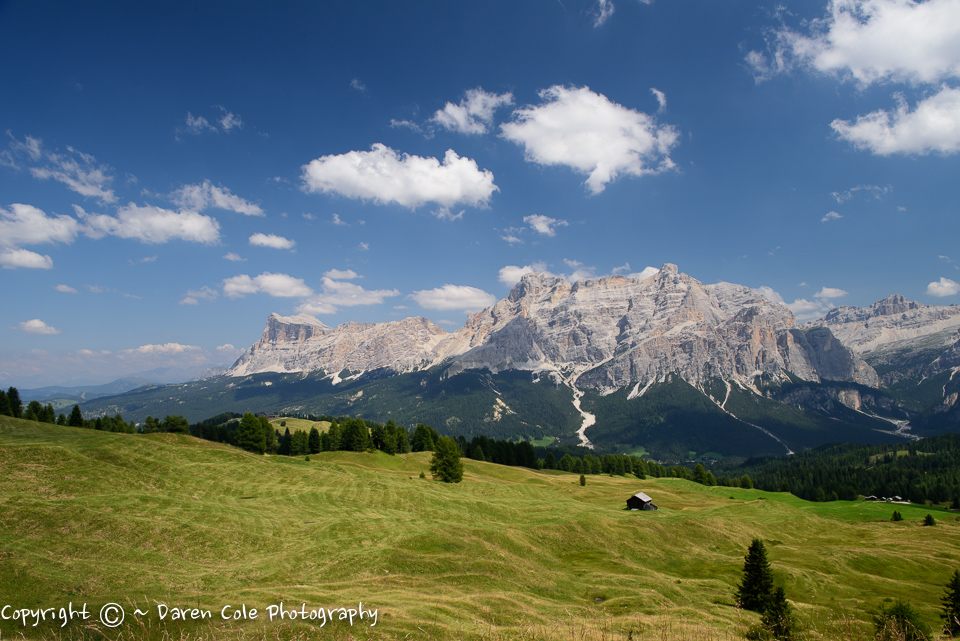Dolomites mountain View