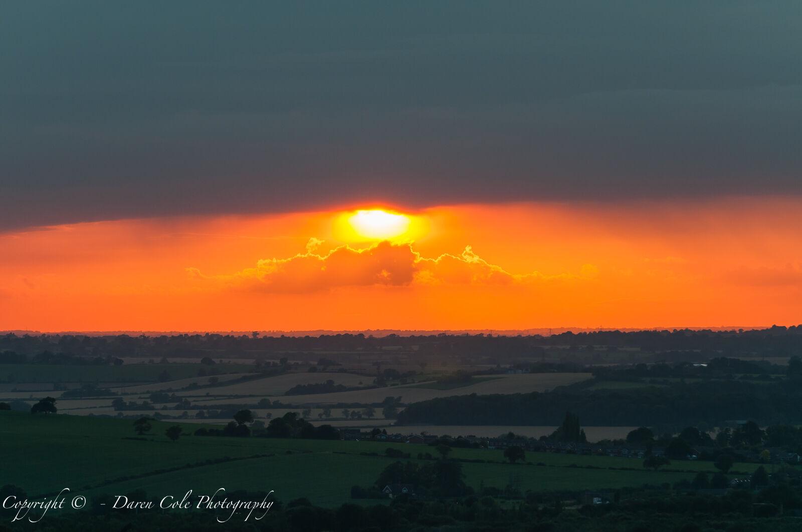 Sunset Pitstone Hill