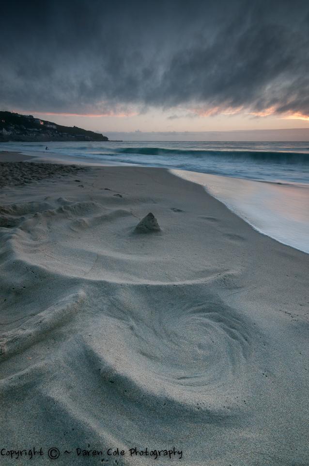 Sand Swirl Sunset