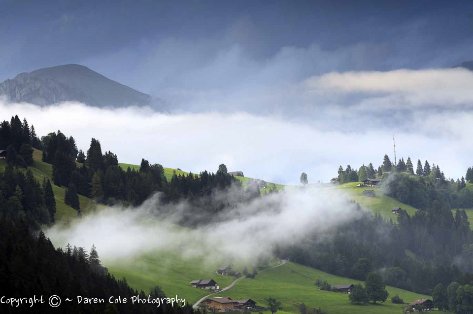 Alps Low Cloud